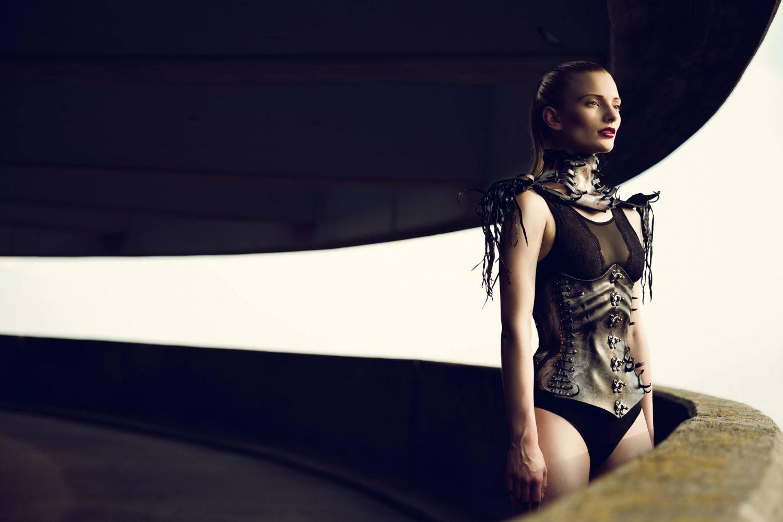 Corset, Choker, Wearable art