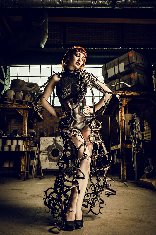 Wearable Art, Corset dress