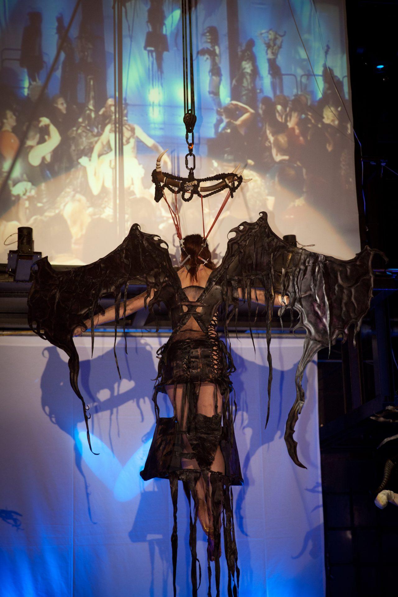 wings, hooksuspension