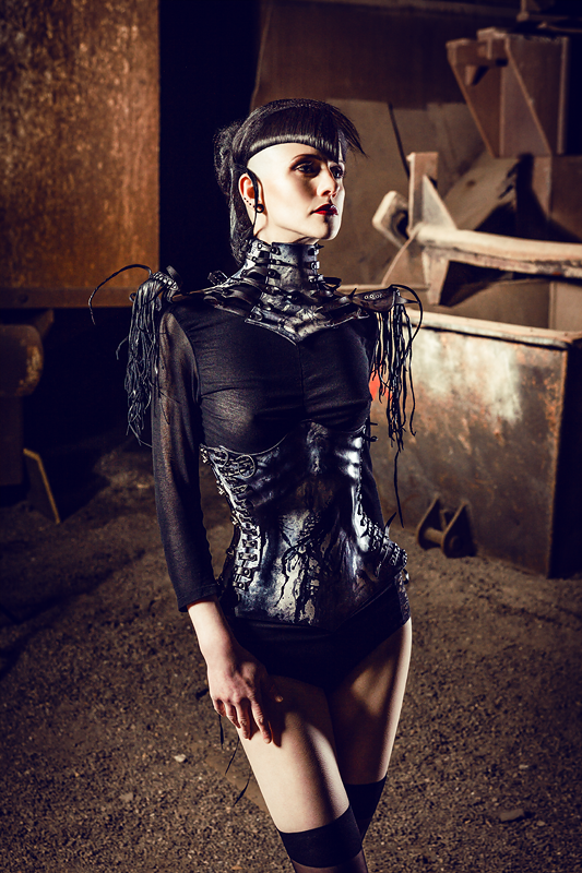Corset, Choker, Wearable art